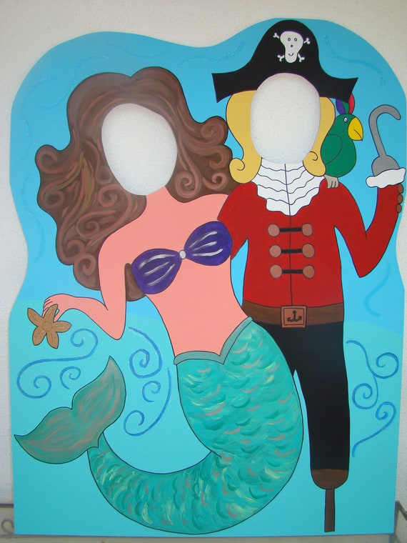 My Little Mermaid And Pirate Photo Prop Amp Event Decoration Sea