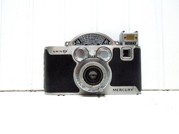 Vintage Camera Univex Mercury Model CC Half Frame Camera