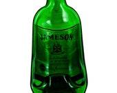Jameson Irish Whiskey Bottle Melted into a Dish