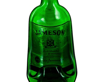 Jameson Irish Whiskey Bottle Melted into a Dish