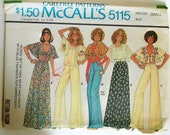 Vintage 1976 Charlie's Angels Wardrobe McCalls Pattern