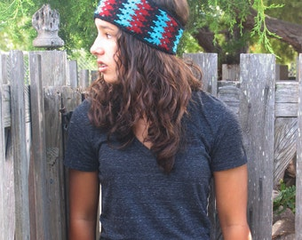 Knit Pattern - Headband, Navajo inspired