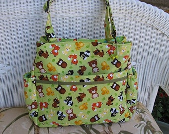 Zoey CUSTOM Diaper Bag / Baby Diaper Bag