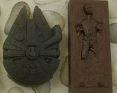 Star Wars Inspired Soap Collection No. 3 - Bounty Hunter's Prize & The Millennium Falcon