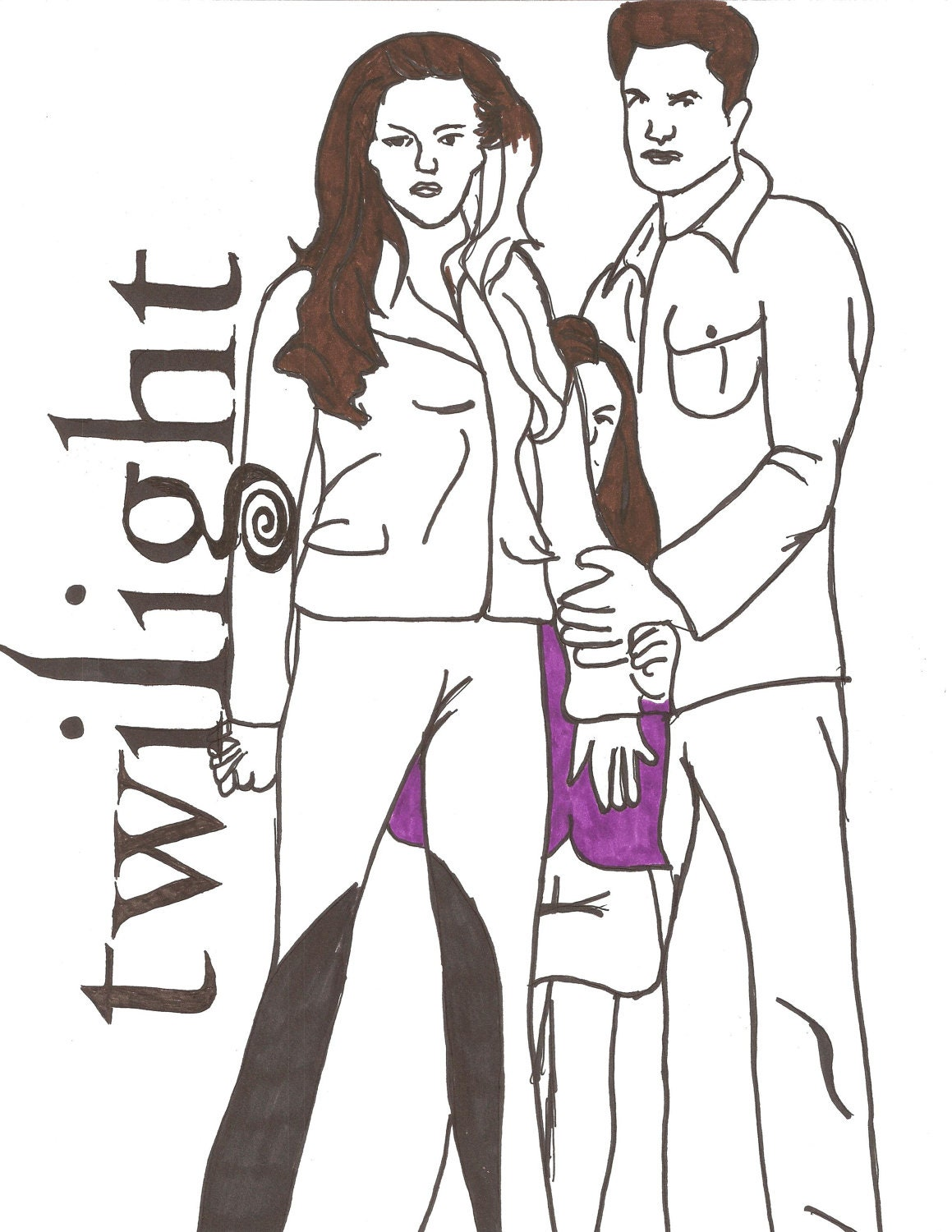 twilight the movie coloring pages - photo#4