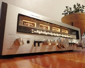 Powerful Vintage Scott Amplifier Receiver Amp 350R Am Fm Tuner R L Stereo Speaker Output Phono Tape Aux Rare