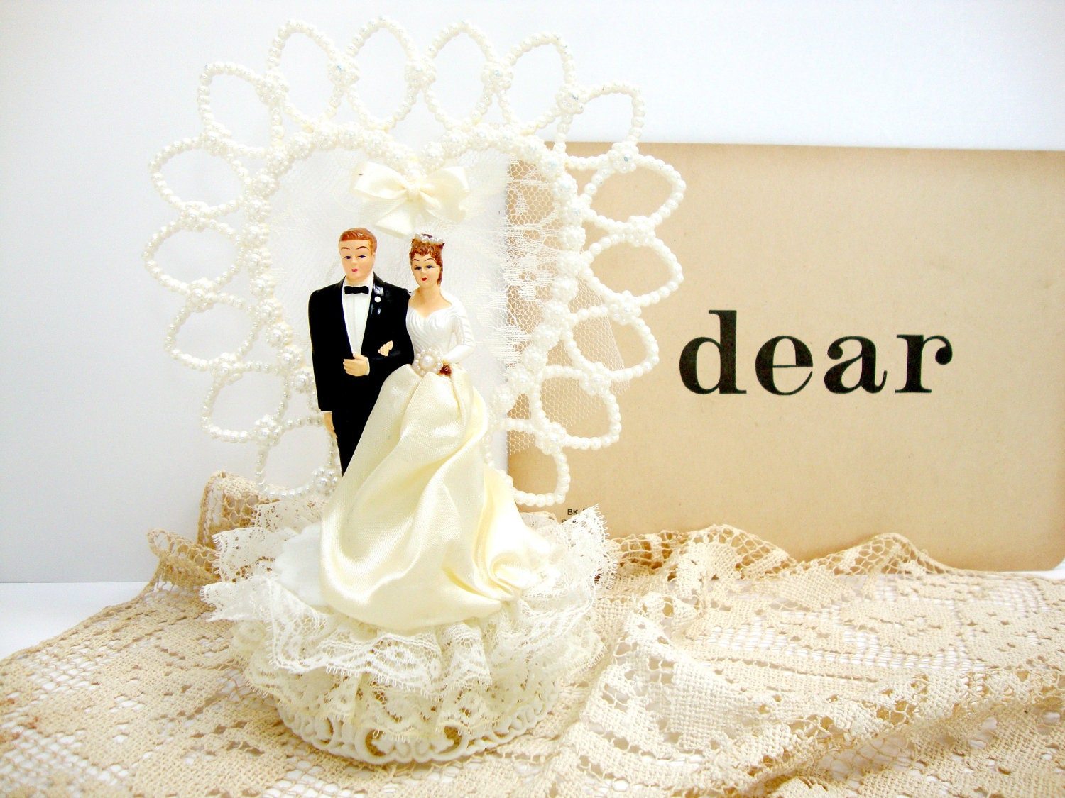 Vintage Wedding Cake Toppers Viewing Gallery