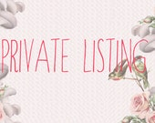 Dedicated listing for Justine