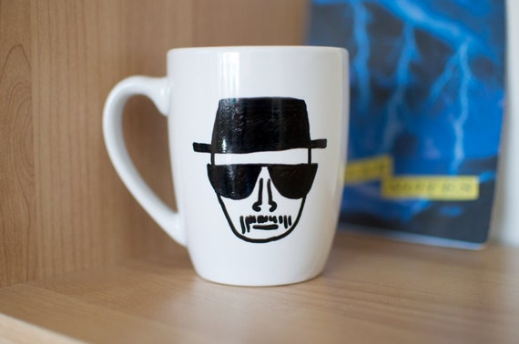 Breaking Bad Hand Painted Heisenberg Mug