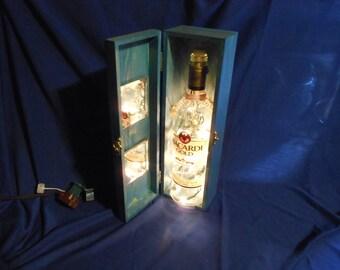 Wine Bottle Lamp, Electric  --  WBL3