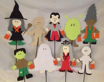 Halloween Party Centerpiece Picks