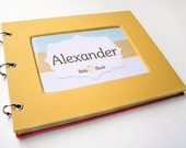 Baby Memory book for ALL Families, Mom & Dad, LGBT, single parents - Yellow Mellow
