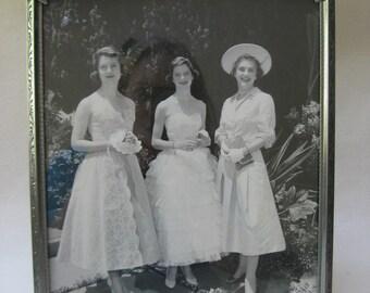 Vintage Prom/Senior Tea Framed Photograph