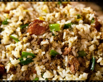 Nanny's Spicy Cajun Rice Recipe~~~Instant Download
