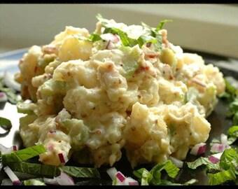 Jan's Fabulous Potato Salad  Recipe~~~Instant Download~~~Back by Request