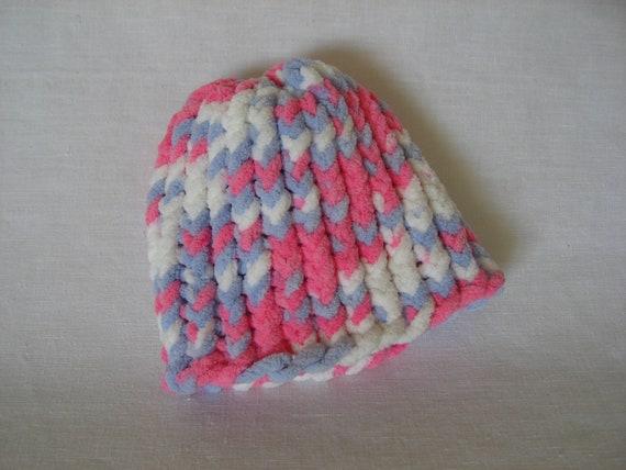 Multi-color Preemie Knit Hat