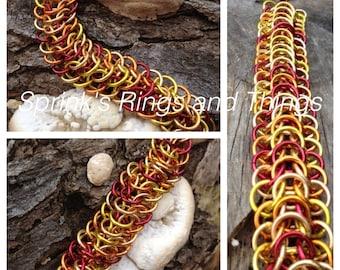 Fire breathing Dragonback bracelet