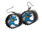 Earrings - Bottlecap - Jerry Bear