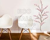PEEL and STICK Kids Nursery Removable Vinyl Wall Sticker Mural Decal Art - Japanese Cherry Blossom