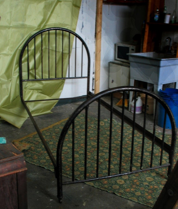 Antique Hospital Bed Twin Sized Metal Bed Frame