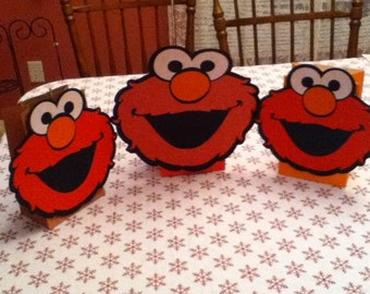 3 Cute Large Ballooon Centerpiece Set of Three