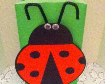 Cute LadyBug Party Goody Bags