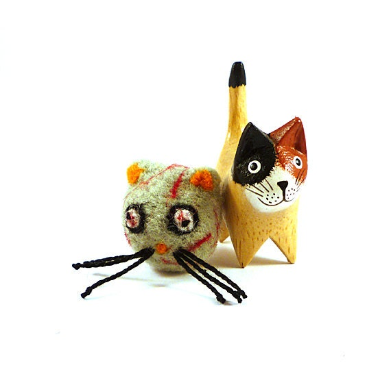 Zombie Wool Catnip Cat Toy