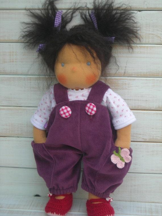 Reserved for tara hackett -   Handmade Organic Waldorf Doll - Dorothy