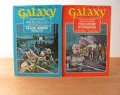 Vintage Alien Invasion Books Science Fiction Galaxy Magazine Scifi