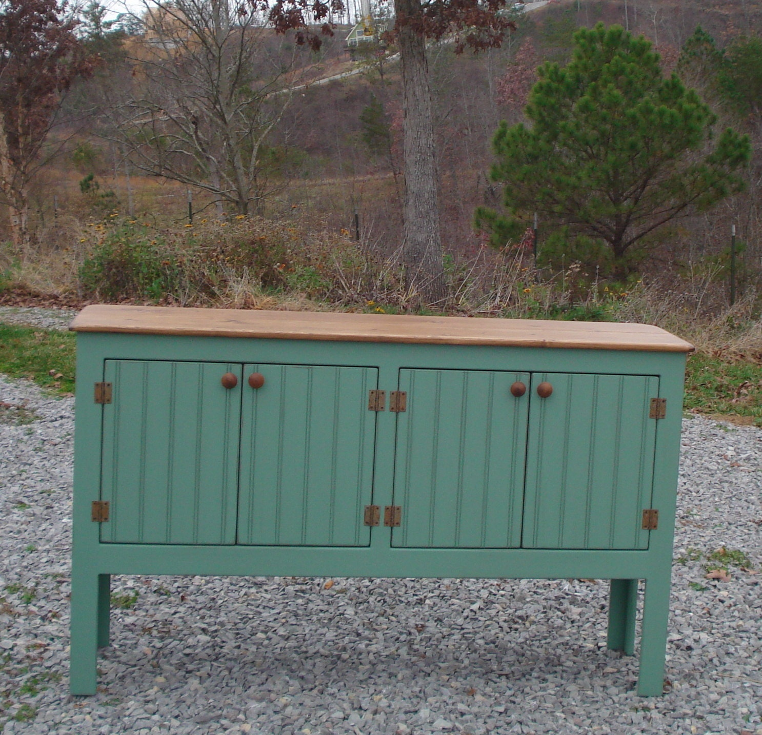 Rustic Sideboard Buffet Foyer Table Entry Table