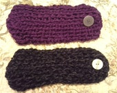 Custom Special Order Kimeny cricket crochet button headbands