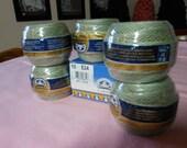 DMC Cebelia Light Olive or sage   green crochet thread