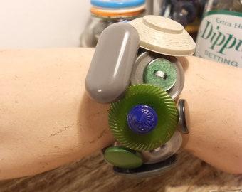 Atticus Button Bracelet