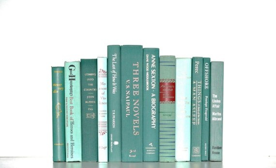 Front Page Featured-Jadeite Shades 12 Book Collection Interior Design Vintage Book Decor