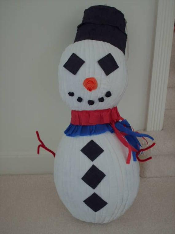 Snowman Party Pinata