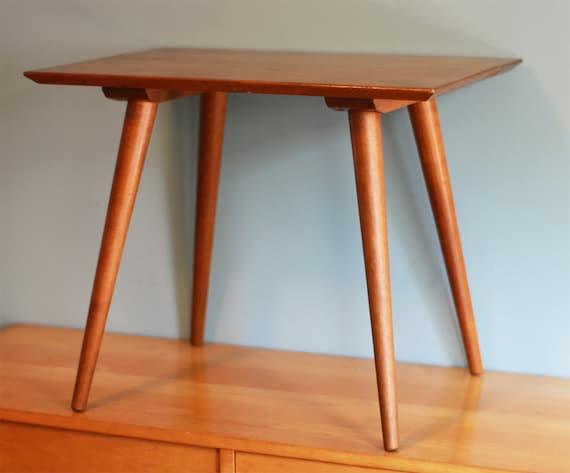 Mid Century Modern Side Table - Vintage Paul McCobb Planner Group