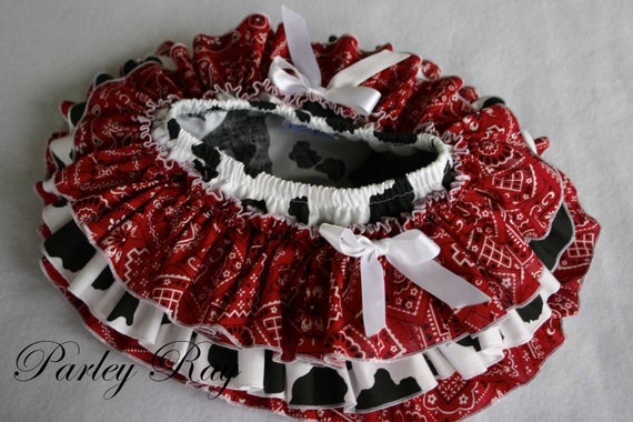 Beautiful Parley Ray Cowgirl All Around Ruffle Skirt Baby Girl Ruffled Bloomers/ Diaper Cover / Photo Props