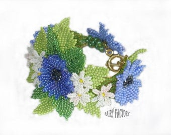 Dream Of a Summer Night -   Cuff/Bracelet PATTERN