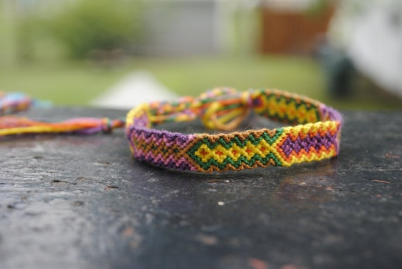 Vibrant Arrowhead Friendship Bracelet