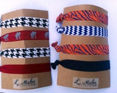 Auburn University Hair Ties Set of 4