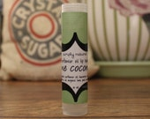 Organic Lime Coconut Lip Balm .15 oz Tube