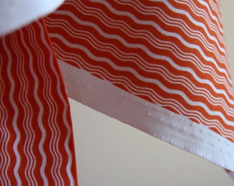 Crimp in Orange from the Hipster Collection from Riley Blake Fabrics - ONE FAT QUARTER Cut