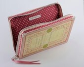 French Romantic Pink Book Clutch