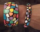 Cobble Stone/ Mosaic Bangles