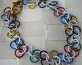 Olympic Chainmaille Bracelet