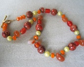 Fall Festival Beaded Necklace