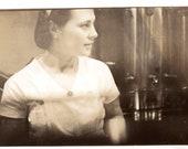 Pretty Lady 1940s-50s Vintage Photograph