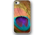 Peacock Feather, iPhone 6  iPhone 5 4 4s Case, Peacock, Golden, Teal Purple, Cell Phone Case, Accessory for iPhone 6  iPhone 5 4 4s
