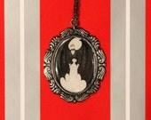 My Bat Boy Necklace Edward Gorey