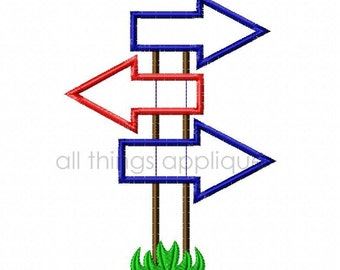 Camp Arrows Applique Design - Machine Embroidery - INSTANT DOWNLOAD